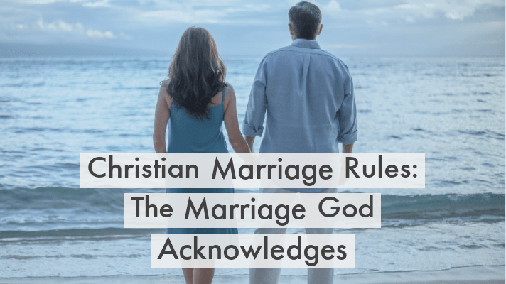 Christianity marriage rules