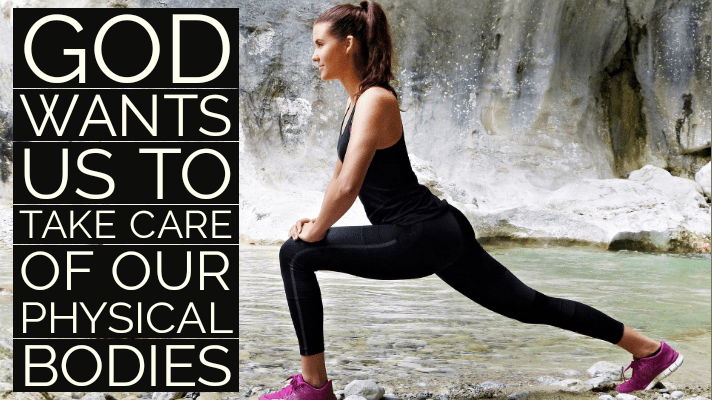 God wants us to be in good health